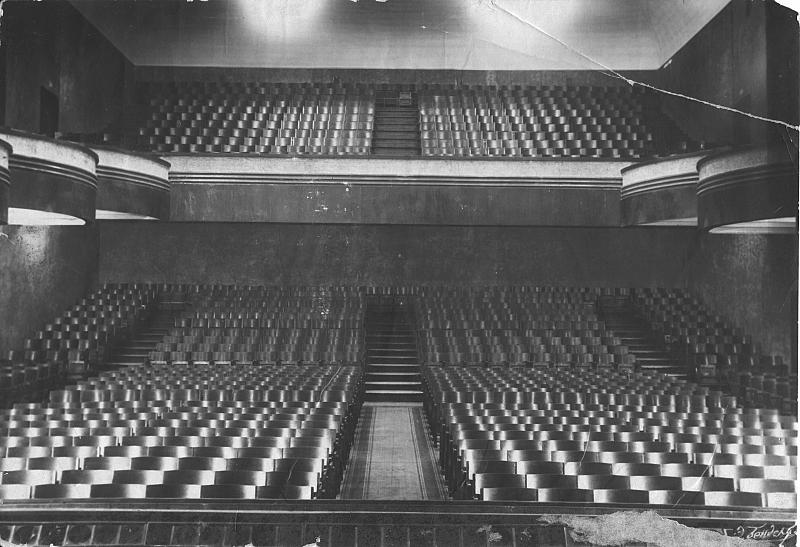 Зрительный зал Вахтанговского театра в довоенное время