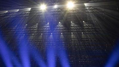 Светотехническое шоу к открытию 100-го сезона